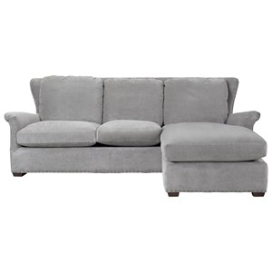 Wittman & Co. Haven Sofa Chaise with Ottoman