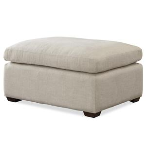 Morris Home Furnishings Haven Transitional Ottoman