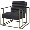 Universal Jensen Accent Chair with Metal Frame