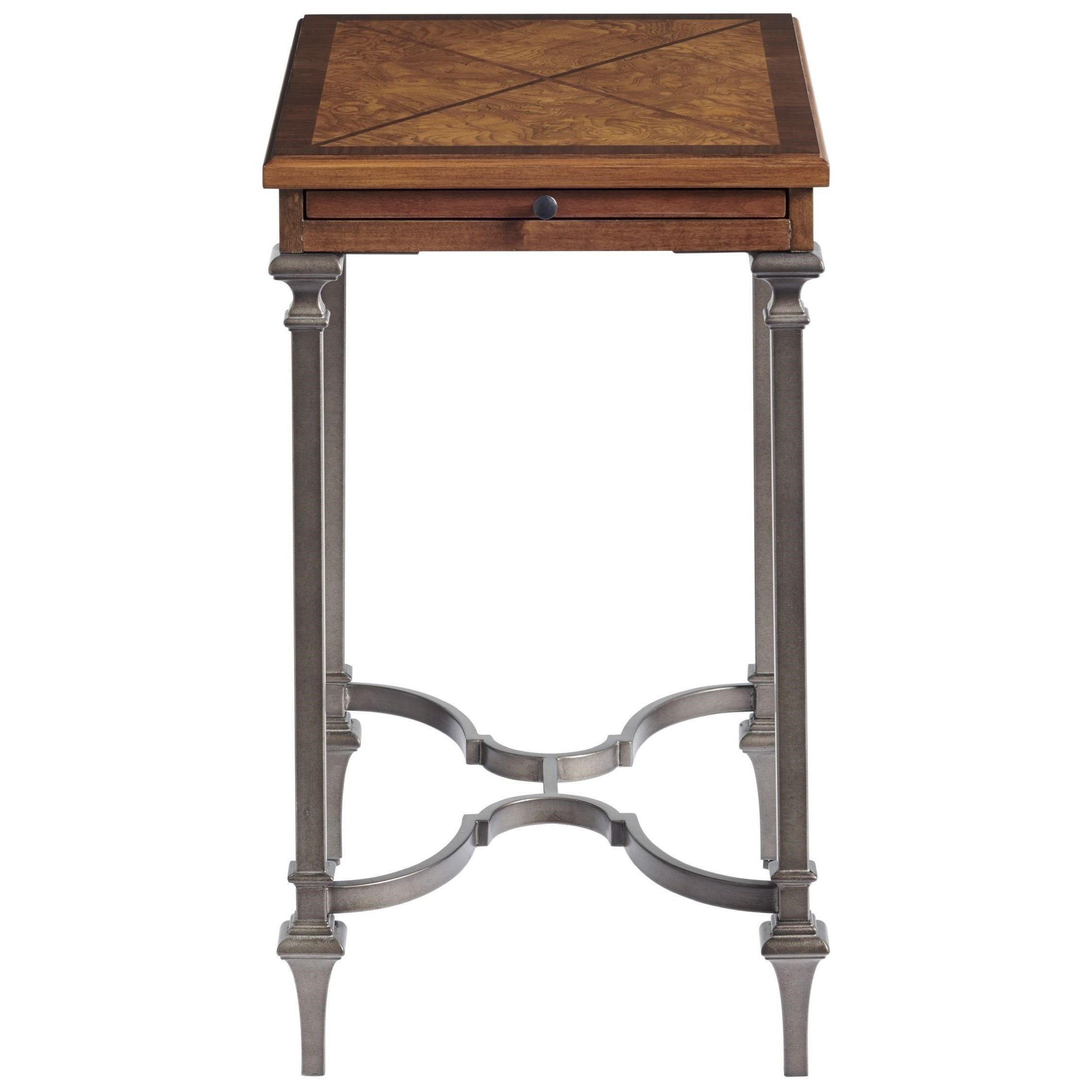 Traditions Kingsbury Chairside Table by Universal at Baer's Furniture