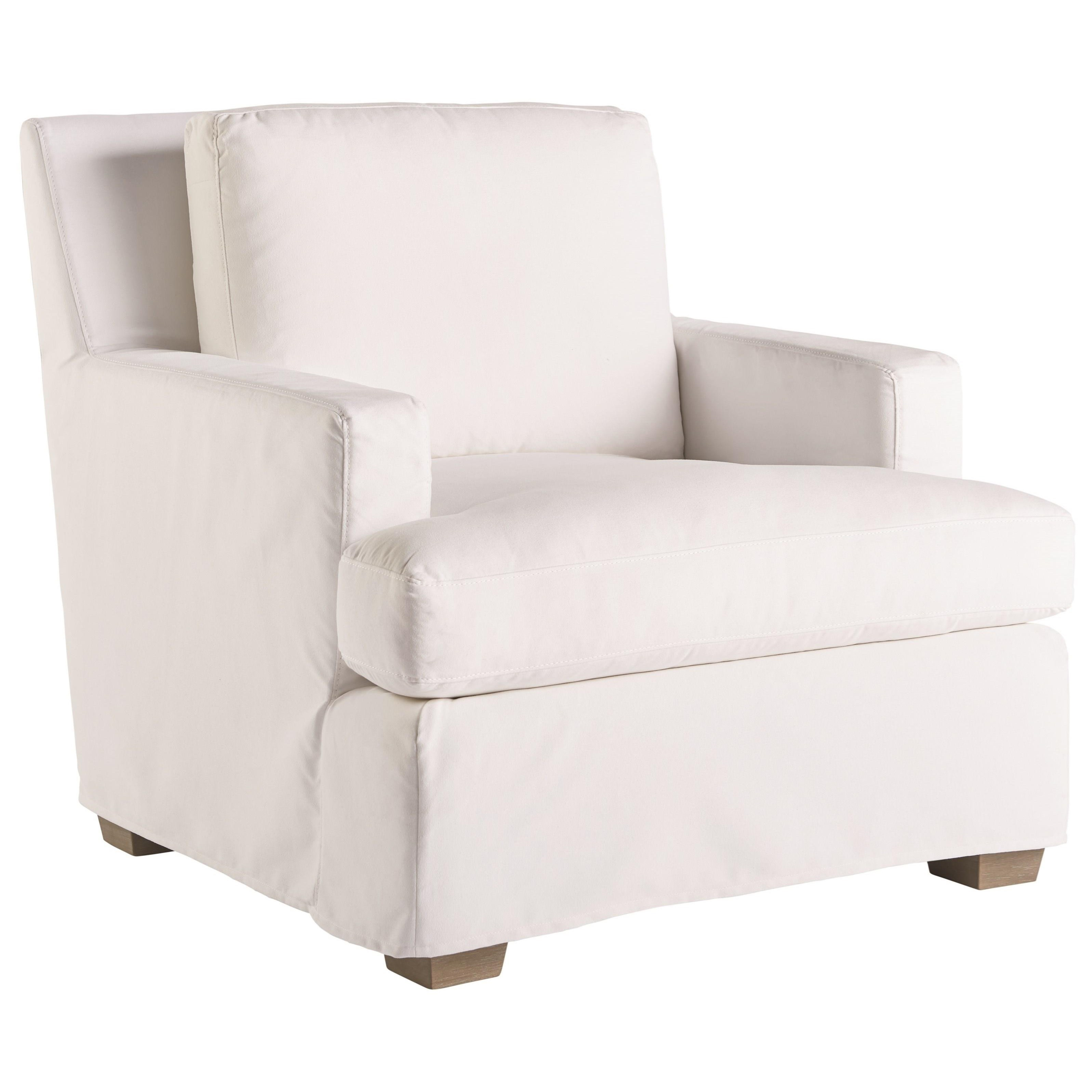 Love. Joy. Bliss.-Miranda Kerr Home Malibu Slipcover Chair by Universal at Baer's Furniture