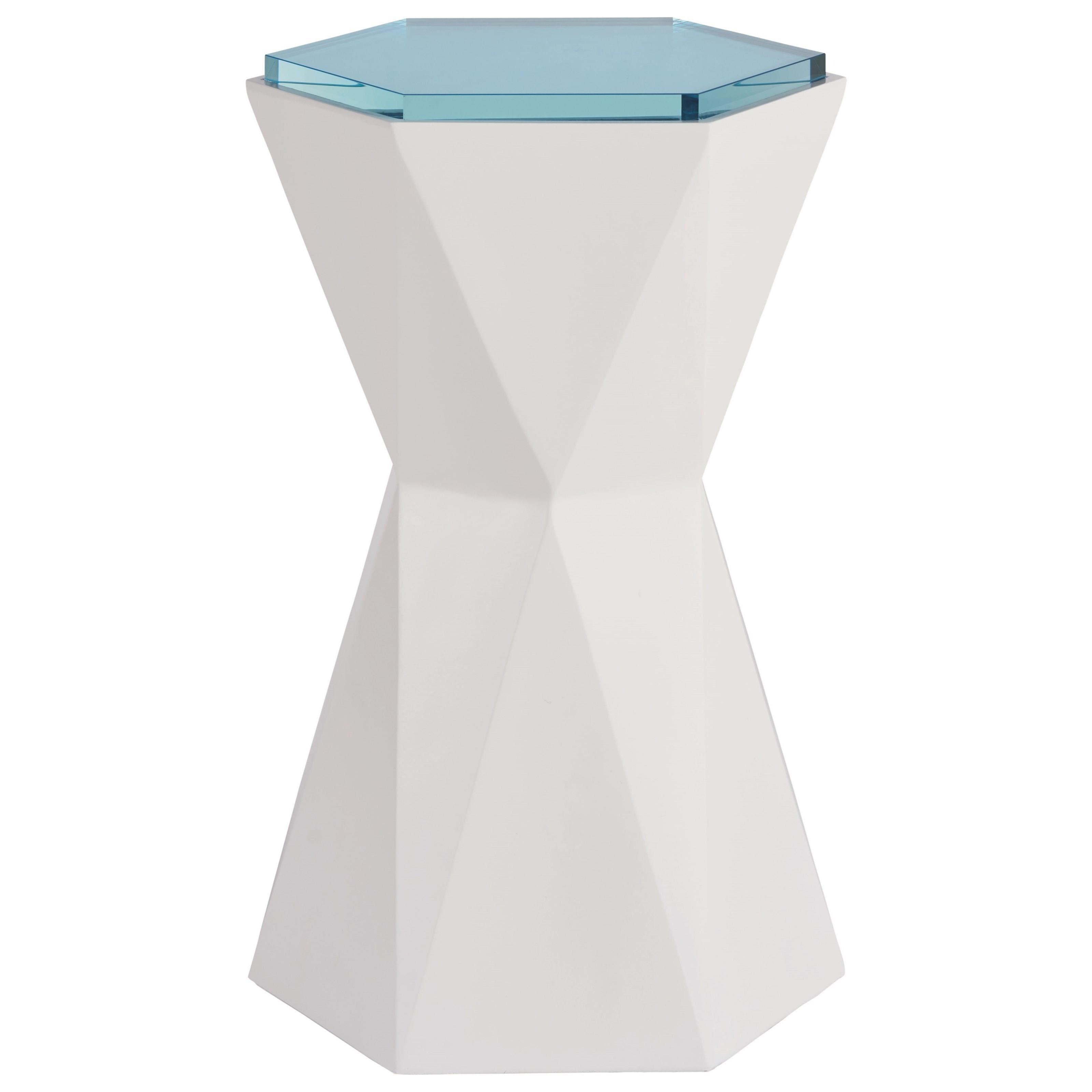 Love. Joy. Bliss.-Miranda Kerr Home Hexagon Martini Table by Universal at Baer's Furniture