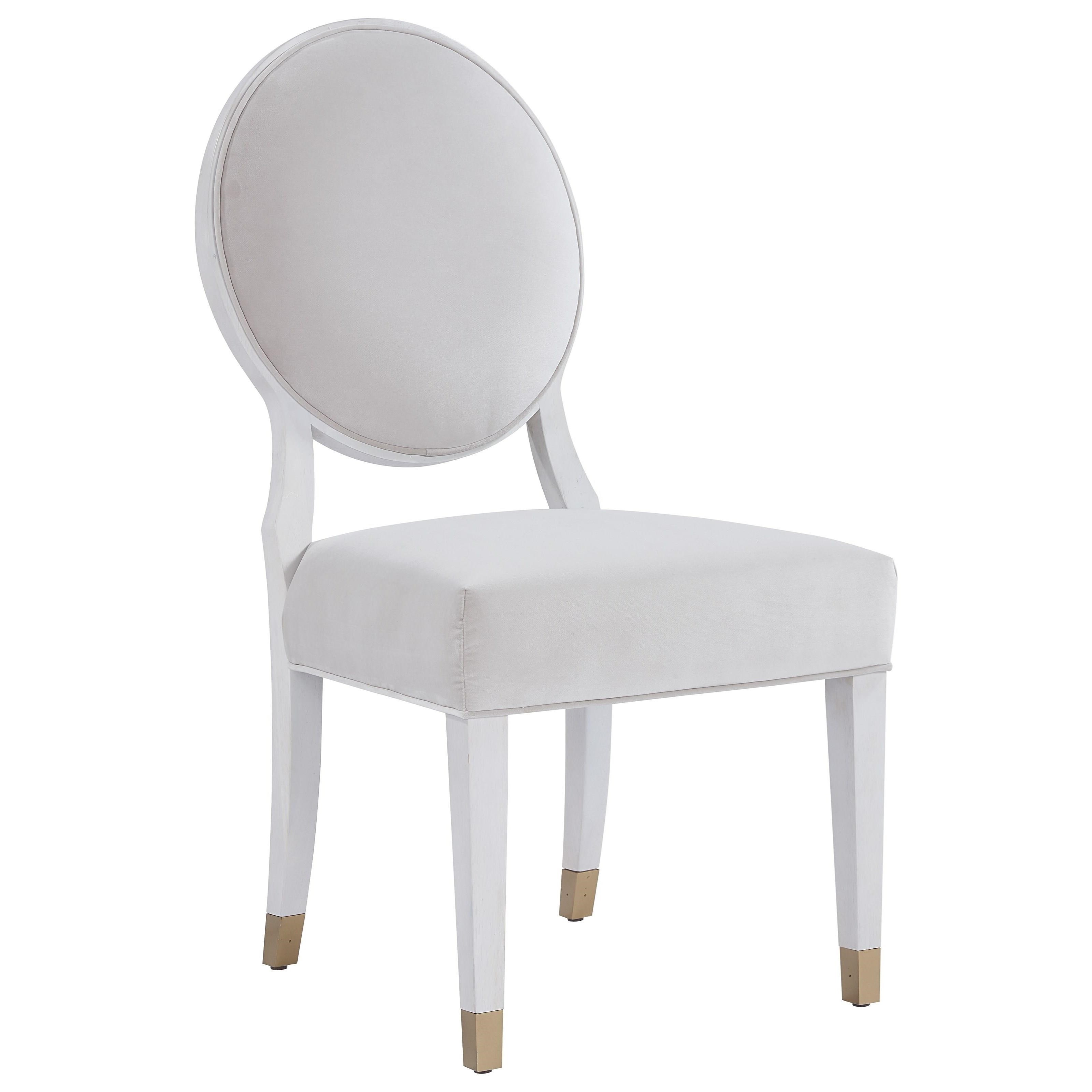 Love. Joy. Bliss.-Miranda Kerr Home Oval Back Side Chair by Universal at Baer's Furniture