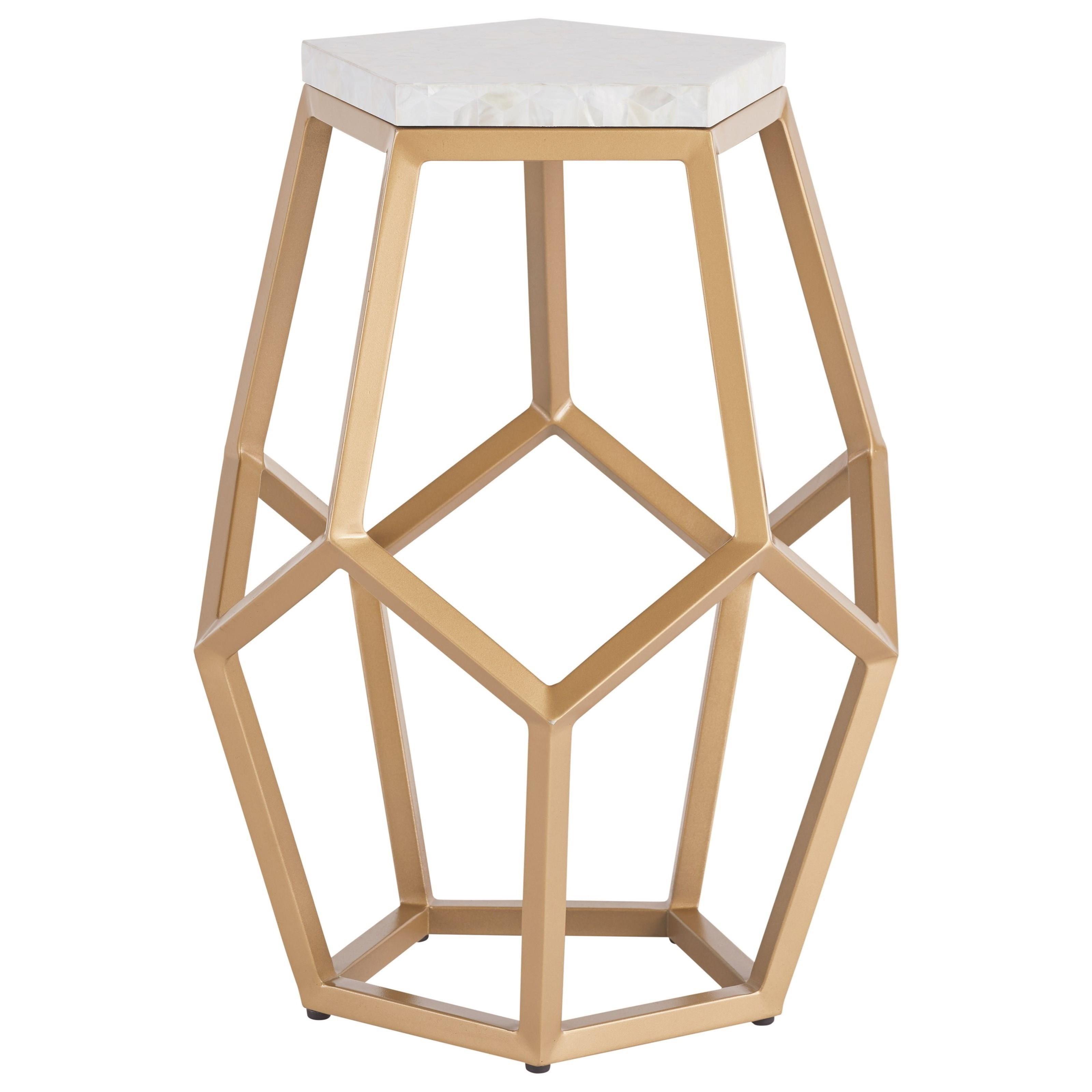 Love. Joy. Bliss.-Miranda Kerr Home Opaline Martini Table by Universal at Baer's Furniture