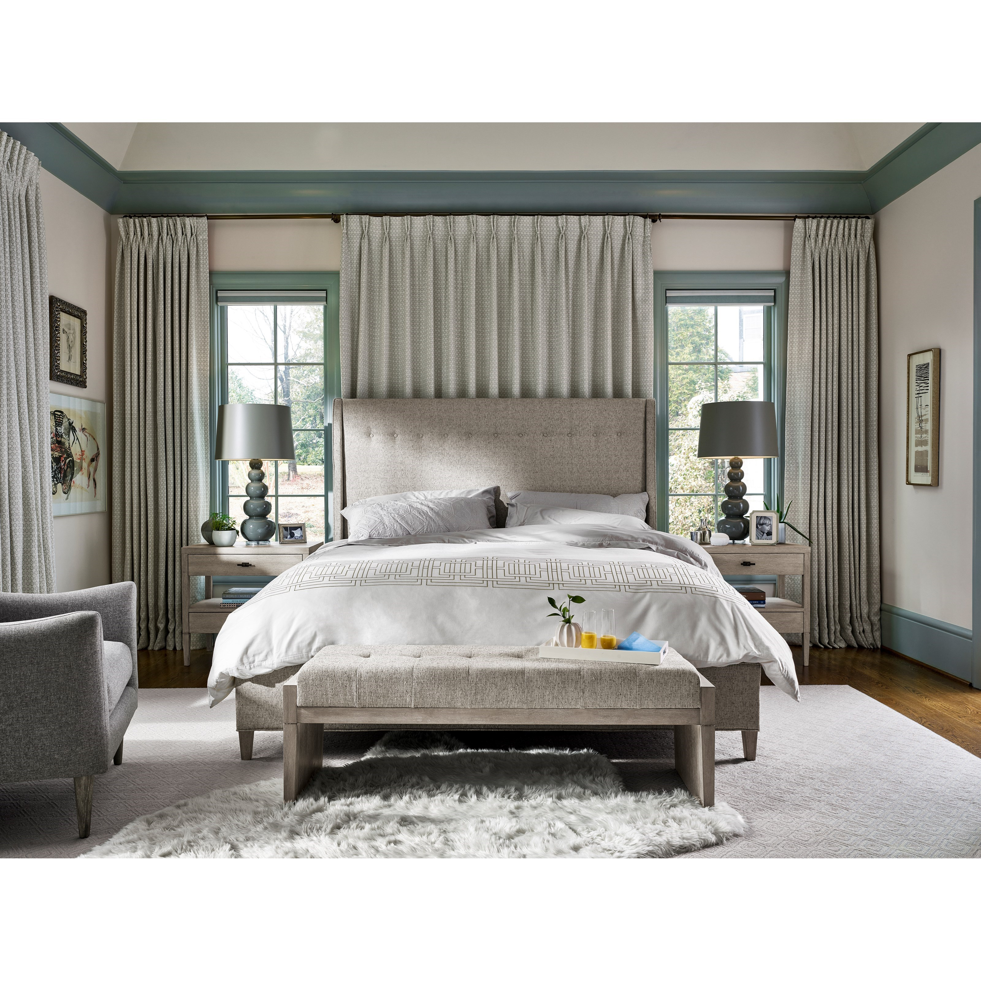 Midtown Queen Bedroom Group by Universal at Baer's Furniture