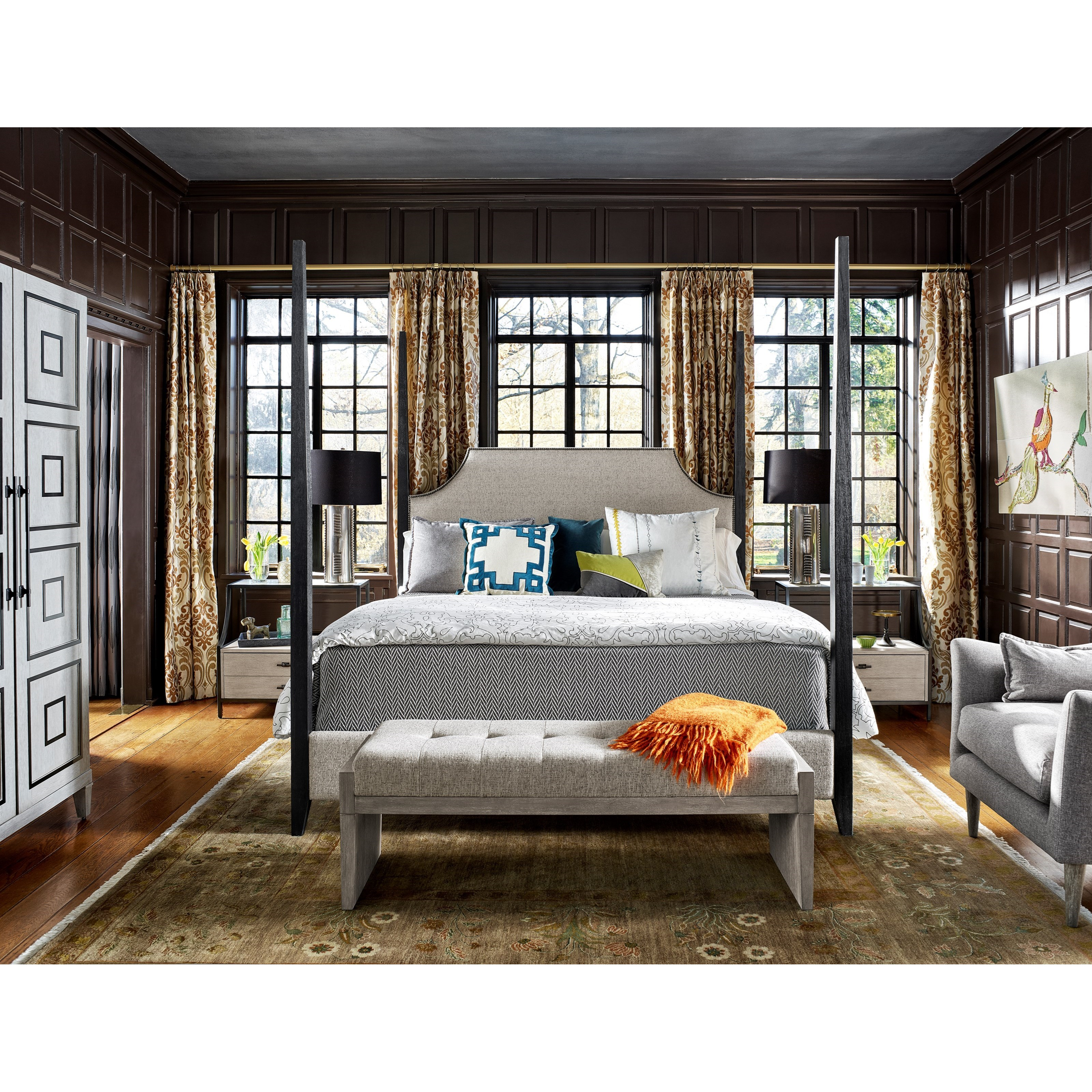 Midtown King Bedroom Group by Universal at Baer's Furniture