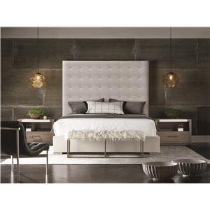 Universal Modern Brando King Bed