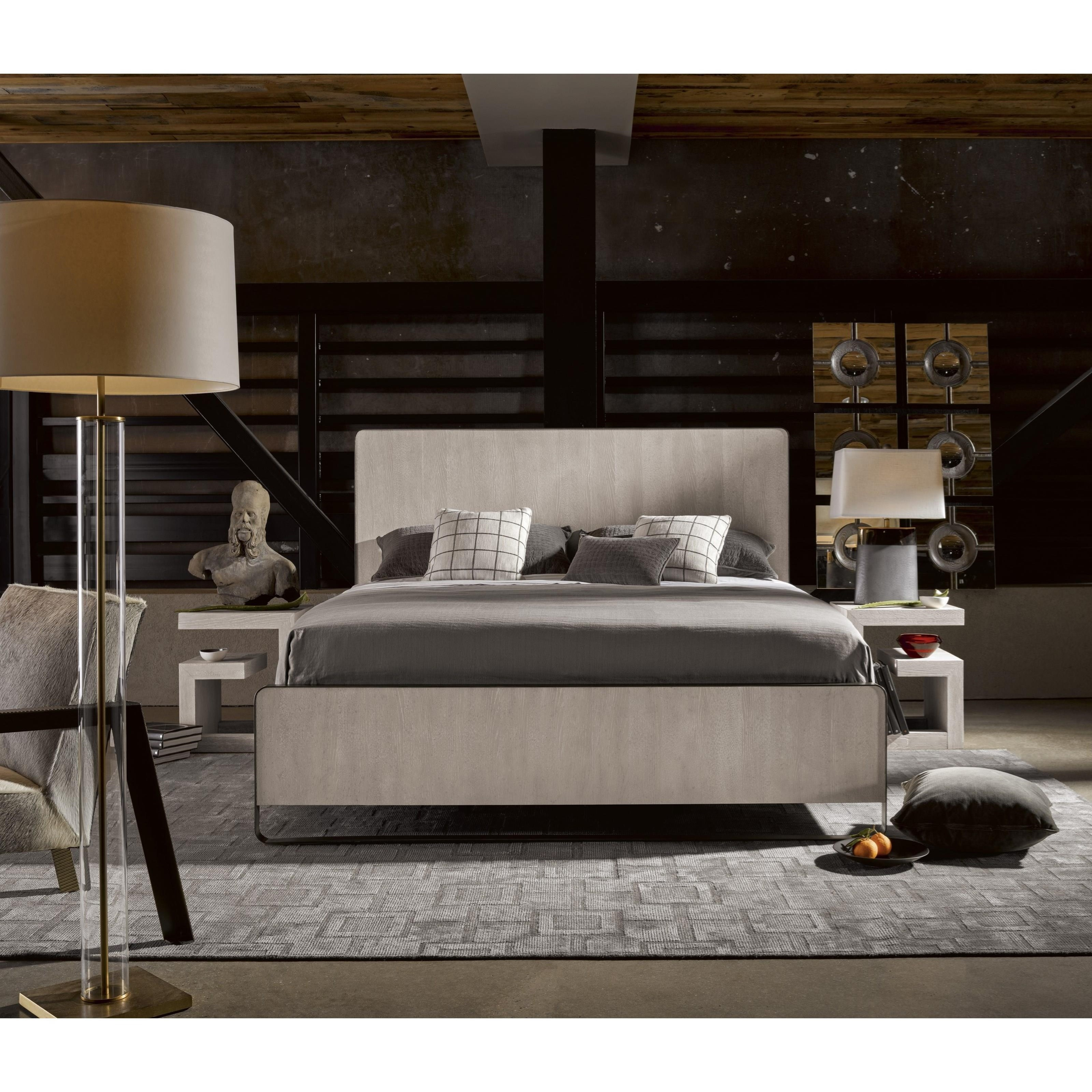 Universal Modern 643310b Keaton Queen Bed With Metal Frame