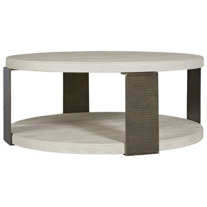 Universal Modern Wilder Round Cocktail Table