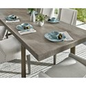Universal Modern Robards Rectangular Dining Table with 22