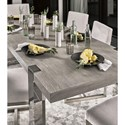 Universal Modern Desmond Dining Table with 22