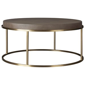 Universal Modern Bennett Round Cocktail Table