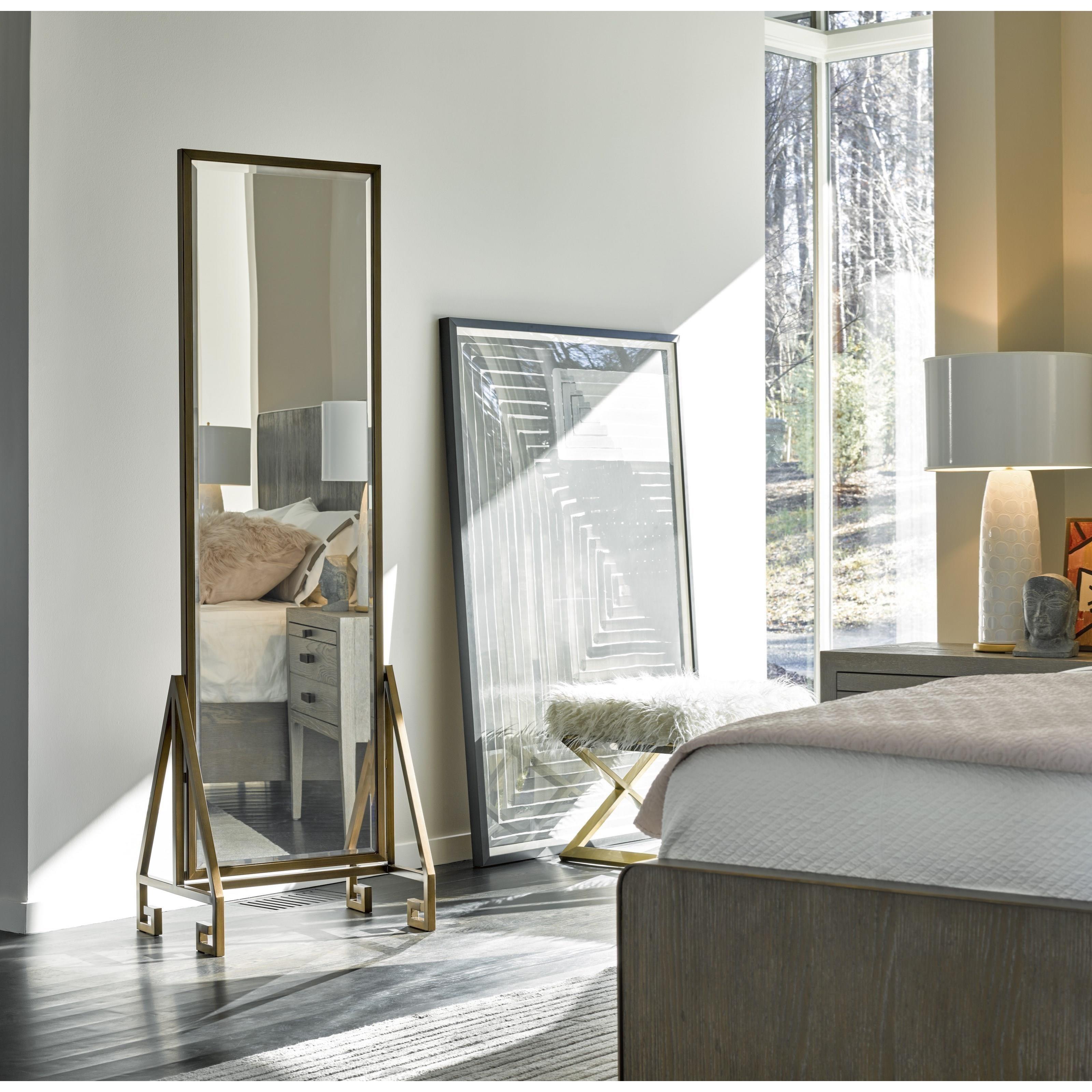 Universal Modern Floor Mirror Belfort Furniture Floor