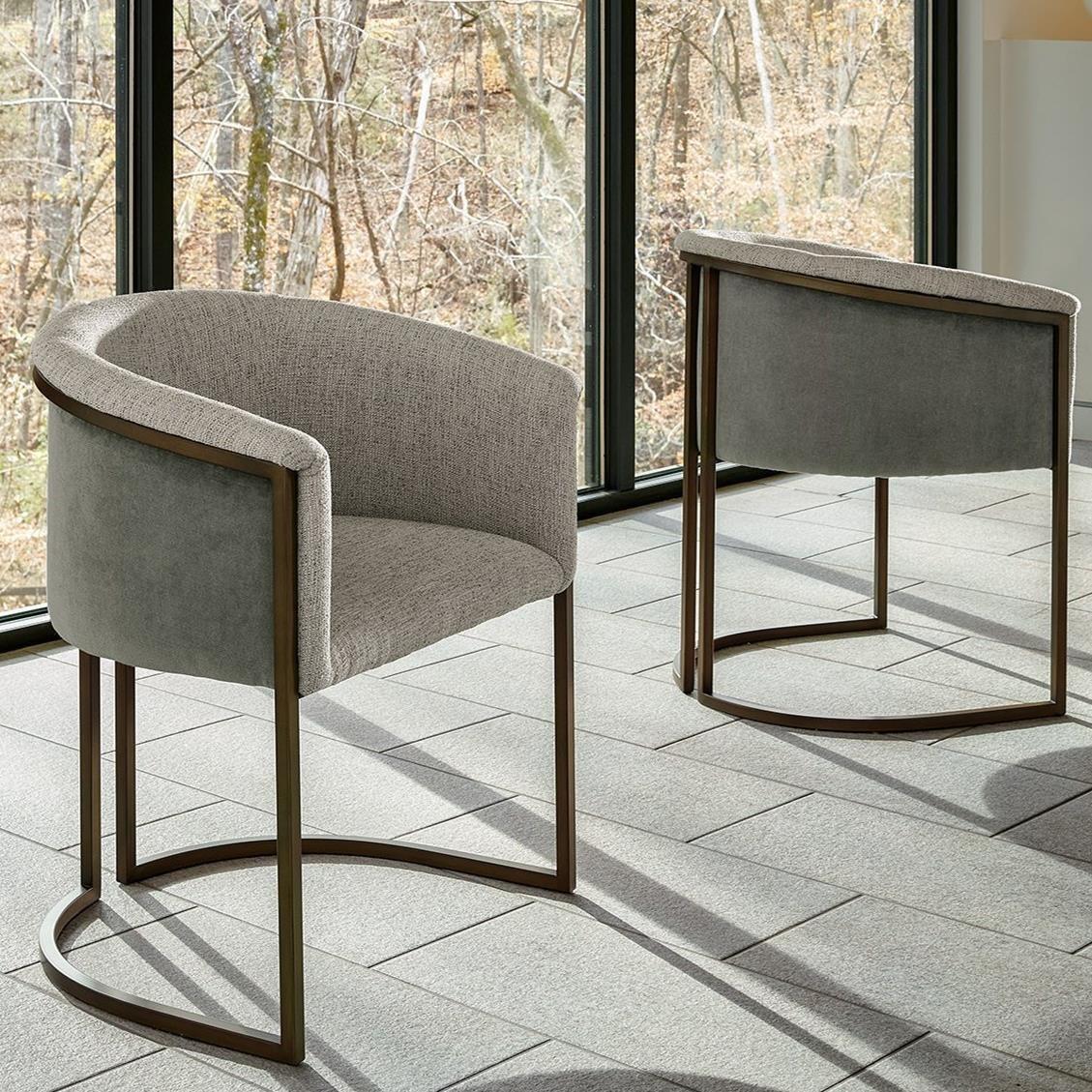 Universal Modern Onyx 847735 Brooks Arm Chair Baer S