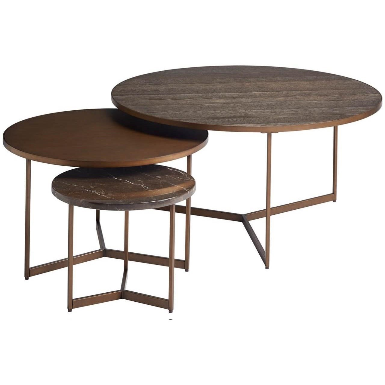 Modern - Onyx Cagney Bunching Tables by Universal at Baer's Furniture
