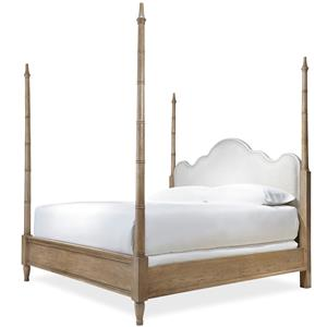 Morris Home Furnishings Moderne Muse Queen Maison Poster Bed