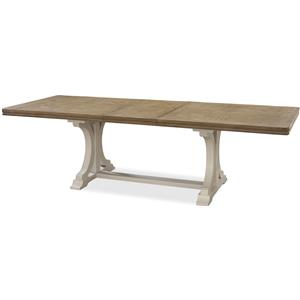 Morris Home Furnishings Moderne Muse Dining Table