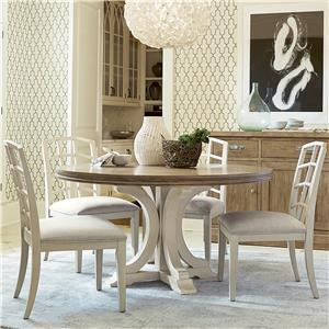 Morris Home Furnishings Moderne Muse 5 Piece Dining Set