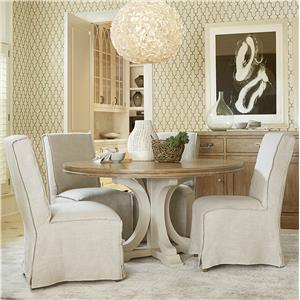 Universal Moderne Muse 5 Piece Dining Set