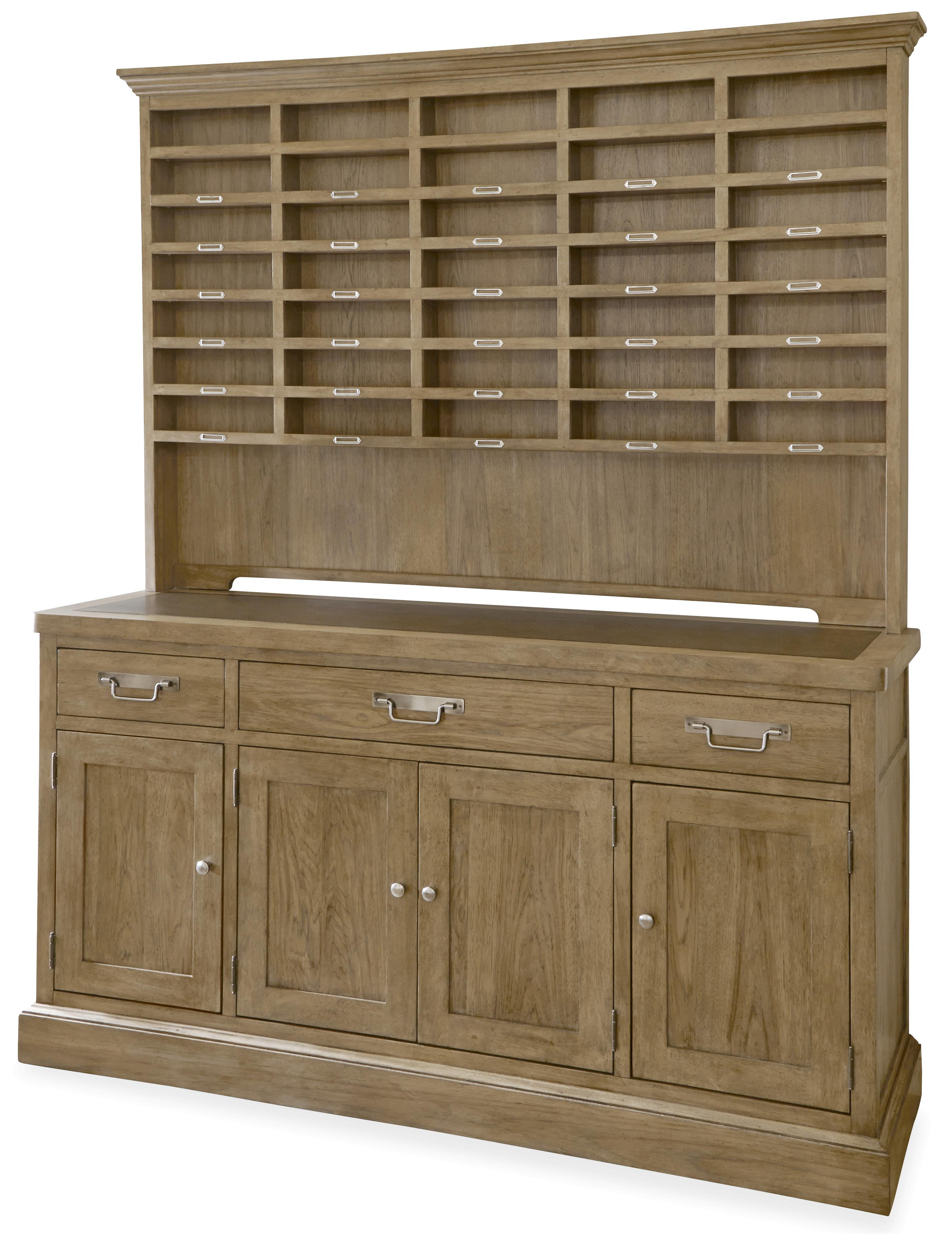 Universal Moderne Muse Sideboard with Hutch - Item Number: 414679HC