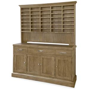 Morris Home Furnishings Moderne Muse Sideboard with Hutch