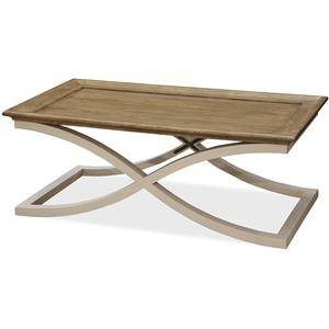 Morris Home Furnishings Moderne Muse Cocktail Table