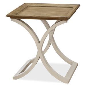 Morris Home Furnishings Moderne Muse End Table