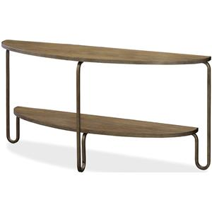 Morris Home Furnishings Moderne Muse Console Table