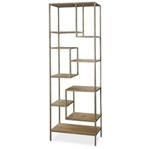 Morris Home Furnishings Moderne Muse Bunching Etagere
