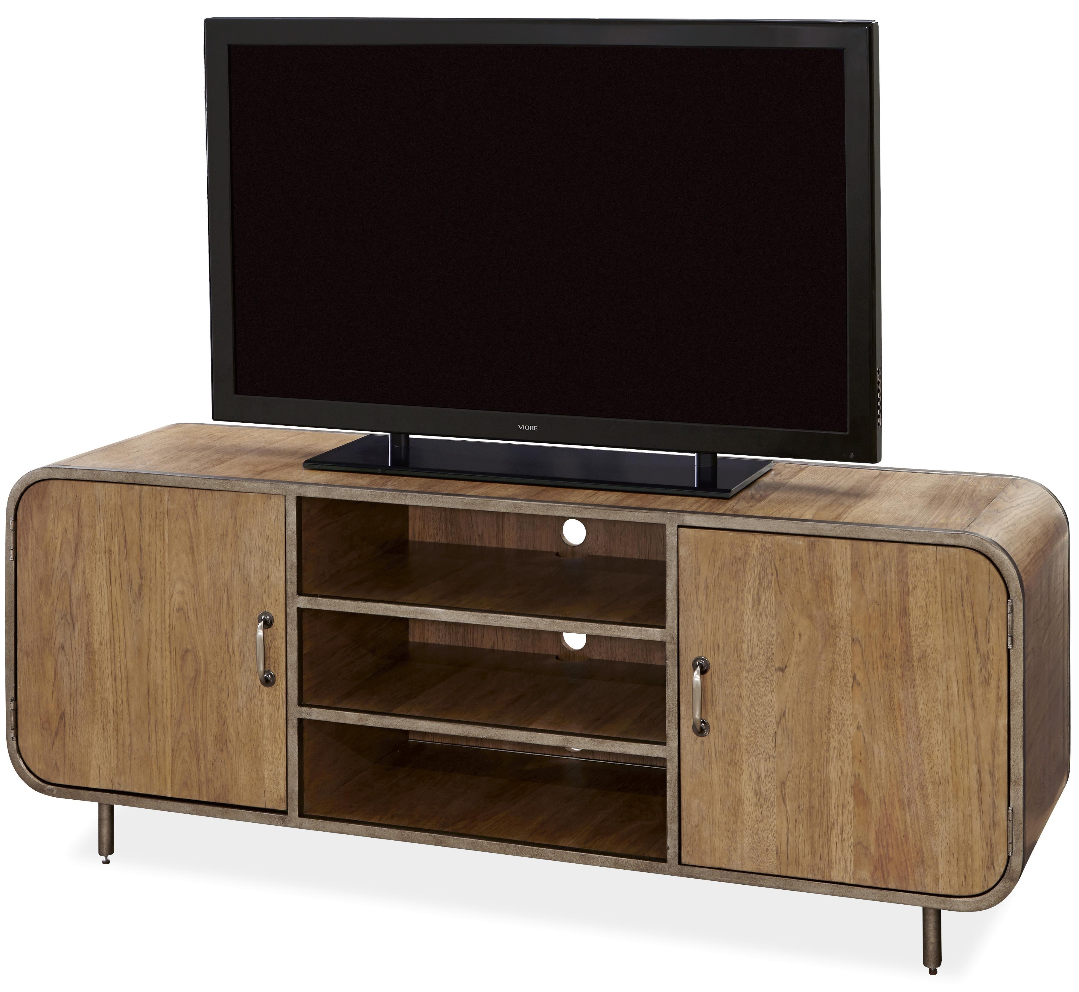 Universal Moderne Muse Waterfall Media Console - Item Number: 414966