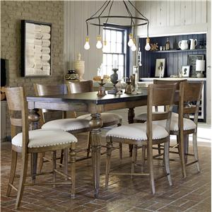 Great Rooms New Bohemian Counter Height Dining Set