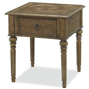 Morris Home Furnishings Bordeaux Bordeaux End Table