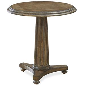 Morris Home Furnishings Bordeaux Round End Table