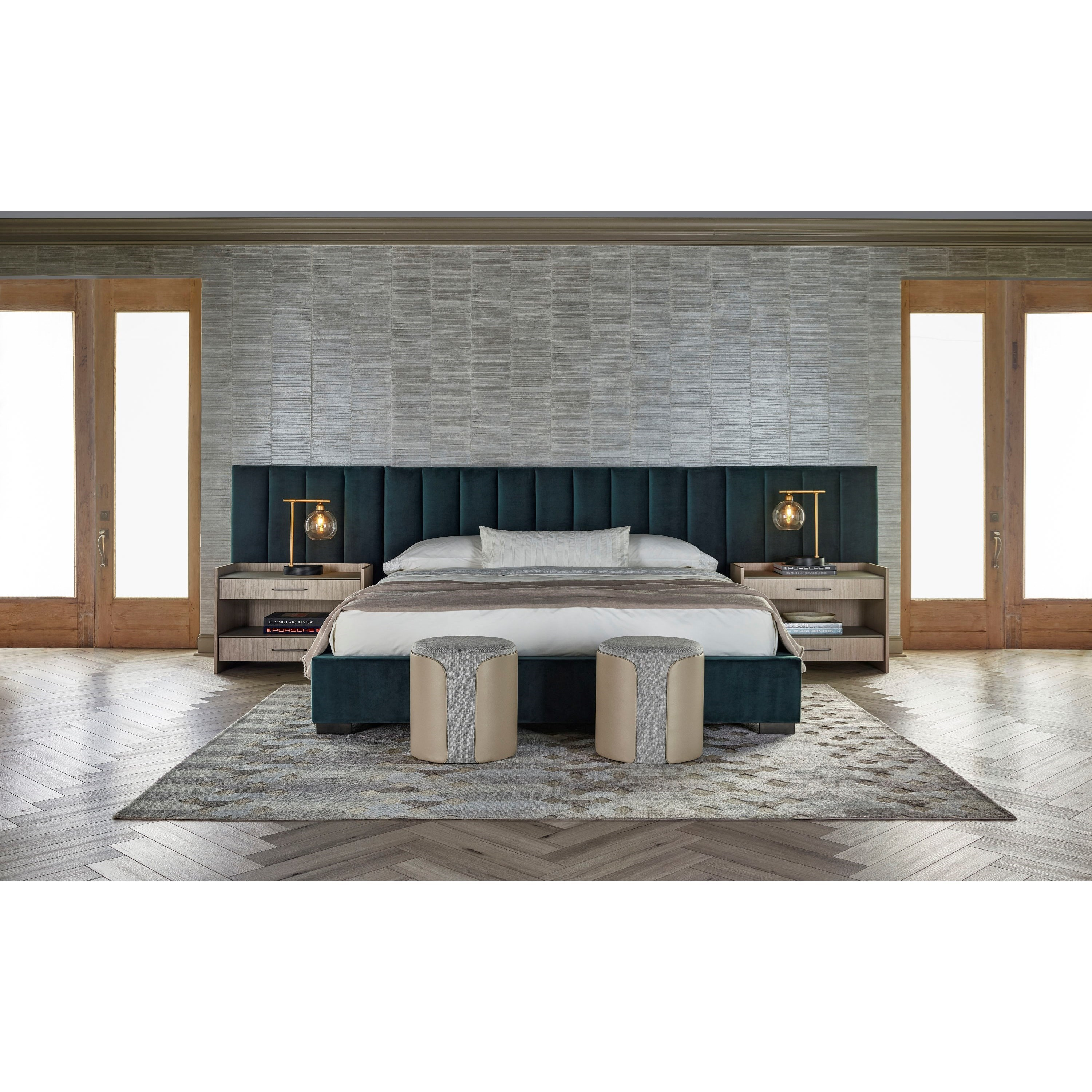 Nina Magon 941 Queen Bedroom Group by Universal at Baer's Furniture