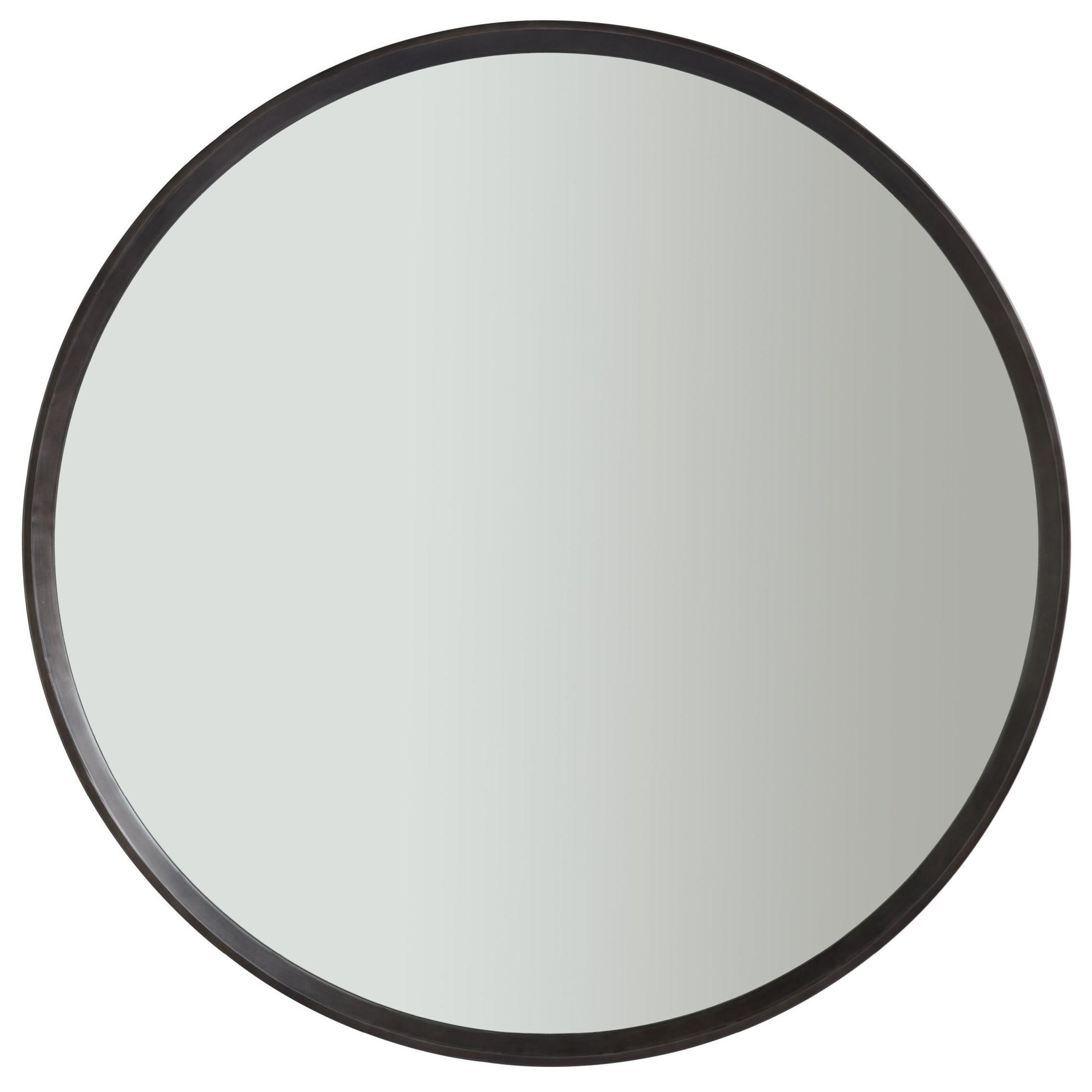 Nina Magon 941 Cecily Round Mirror by Universal at Baer's Furniture