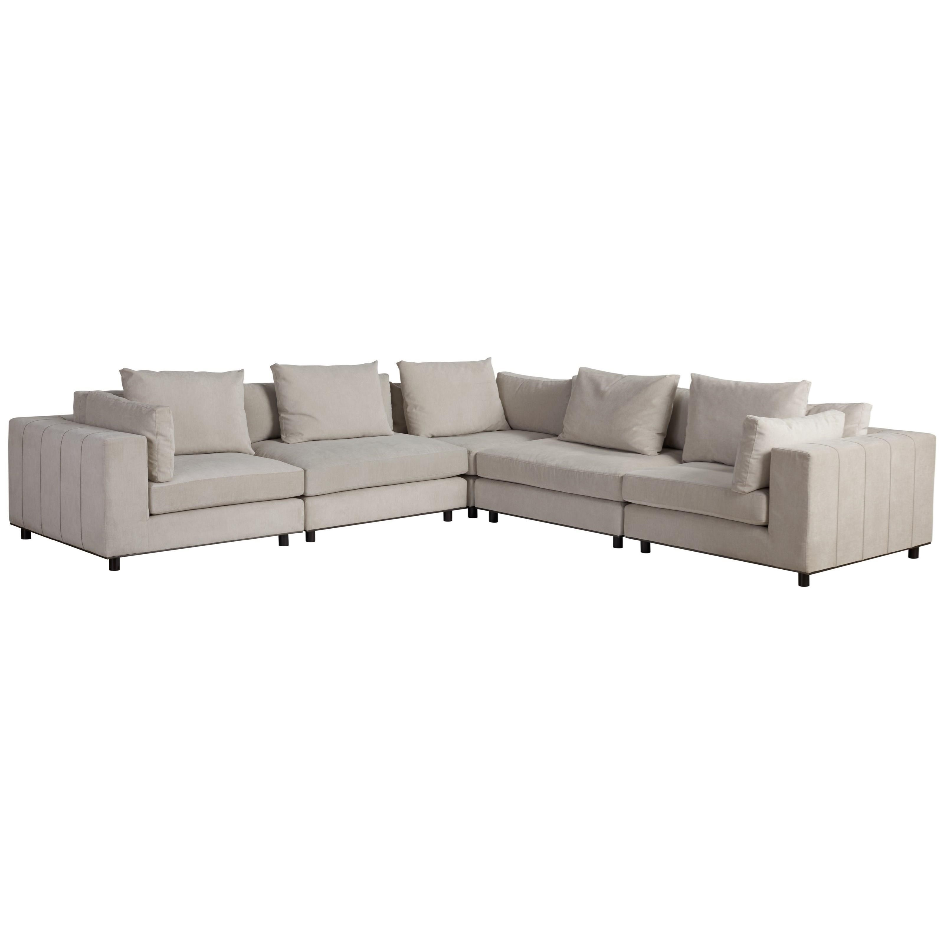 Nina Magon Andorra Sectional by Universal at Jacksonville Furniture Mart