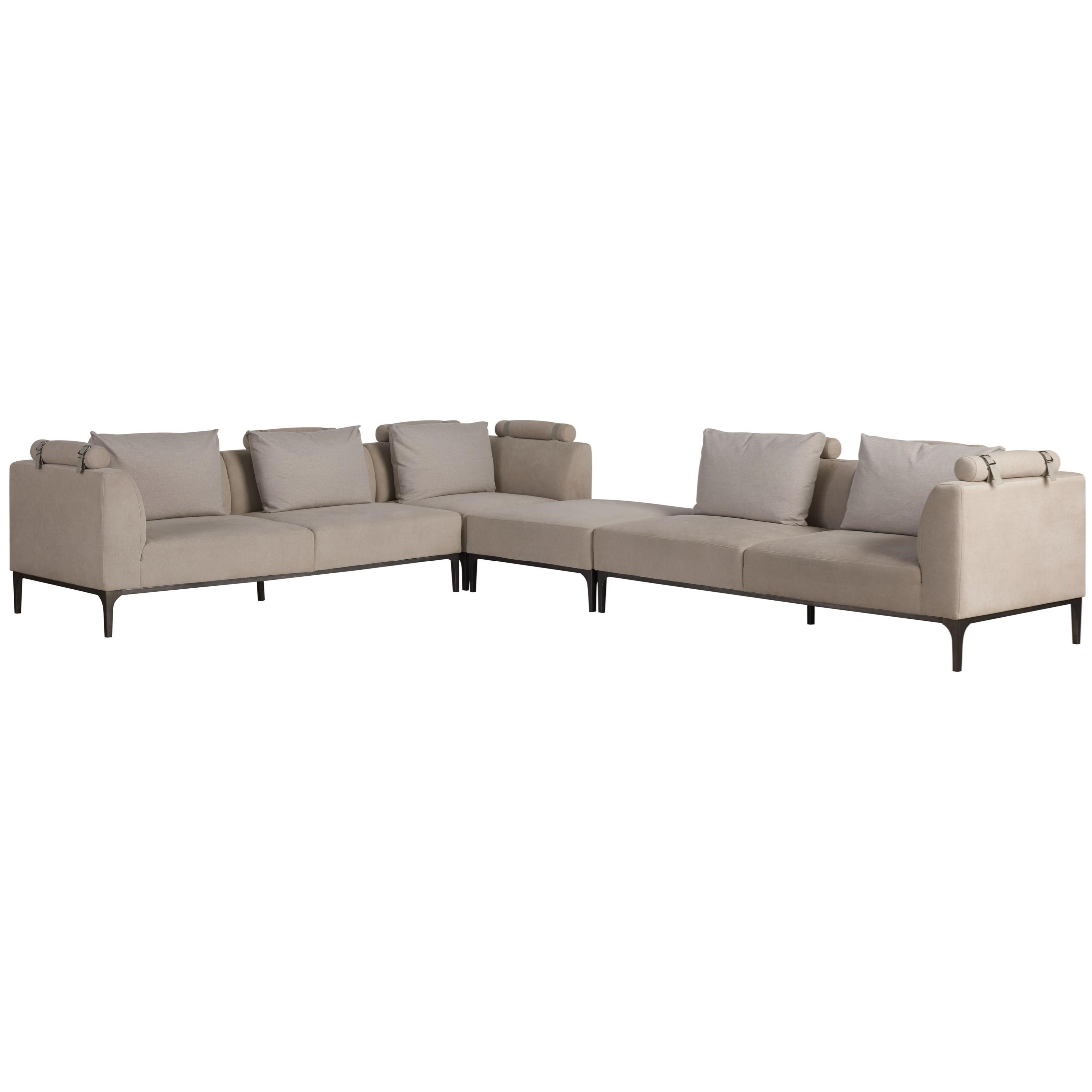 Nina Magon Jolie Sectional by Universal at Jacksonville Furniture Mart