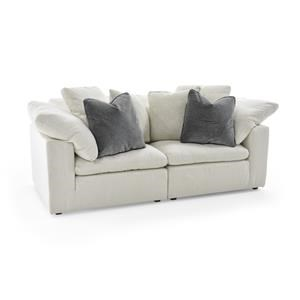 Universal Palmer 2 Pc Sectional Sofa