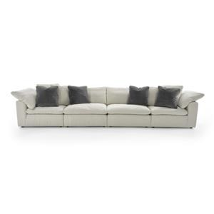 Universal Palmer 4 Pc Sectional Sofa