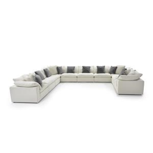 Universal Palmer 10 Pc Sectional Sofa