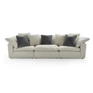 Universal Palmer 3 Pc Sectional Sofa