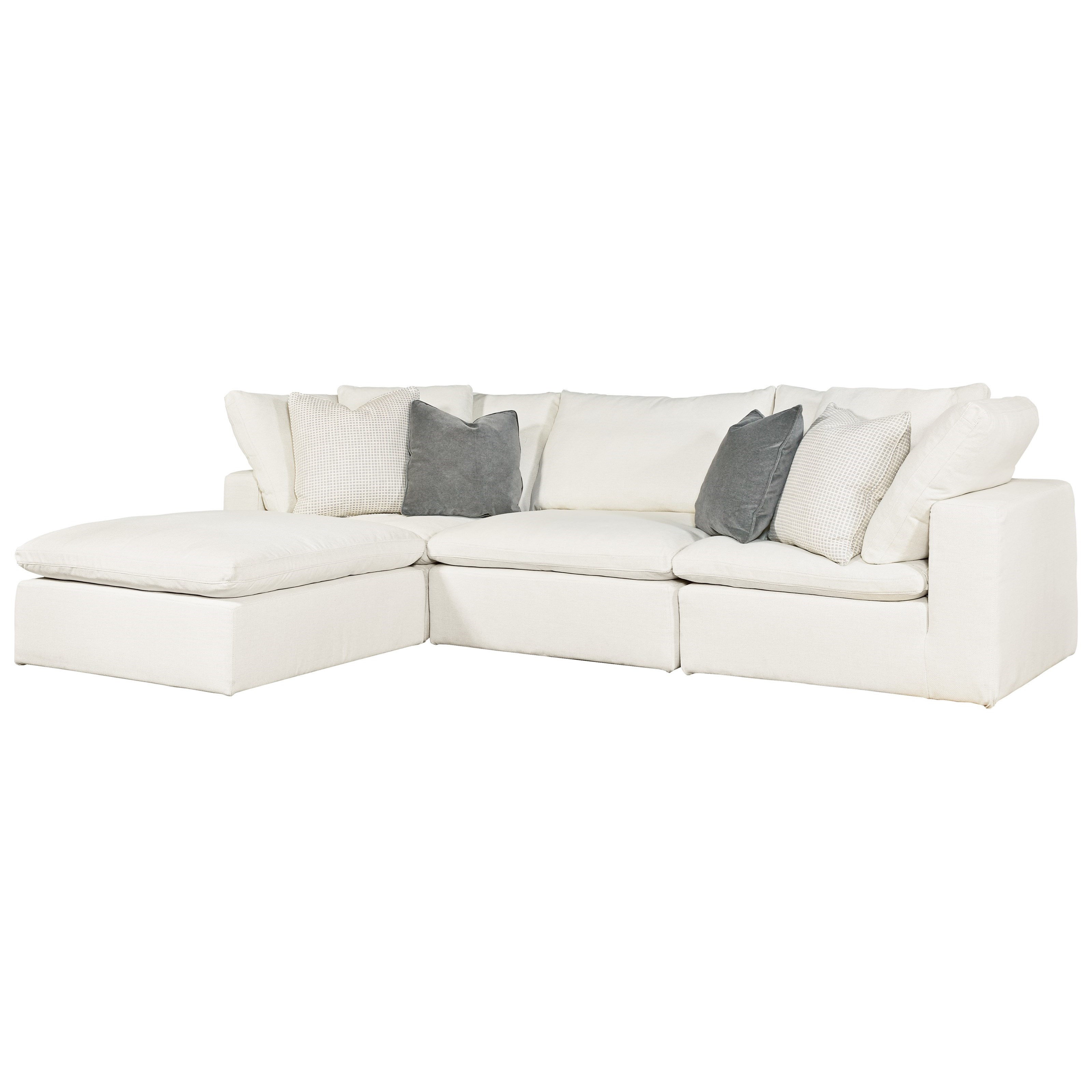 Universal palmer 681541 610 4 piece sectional with raf laf for 4 piece sectional with chaise