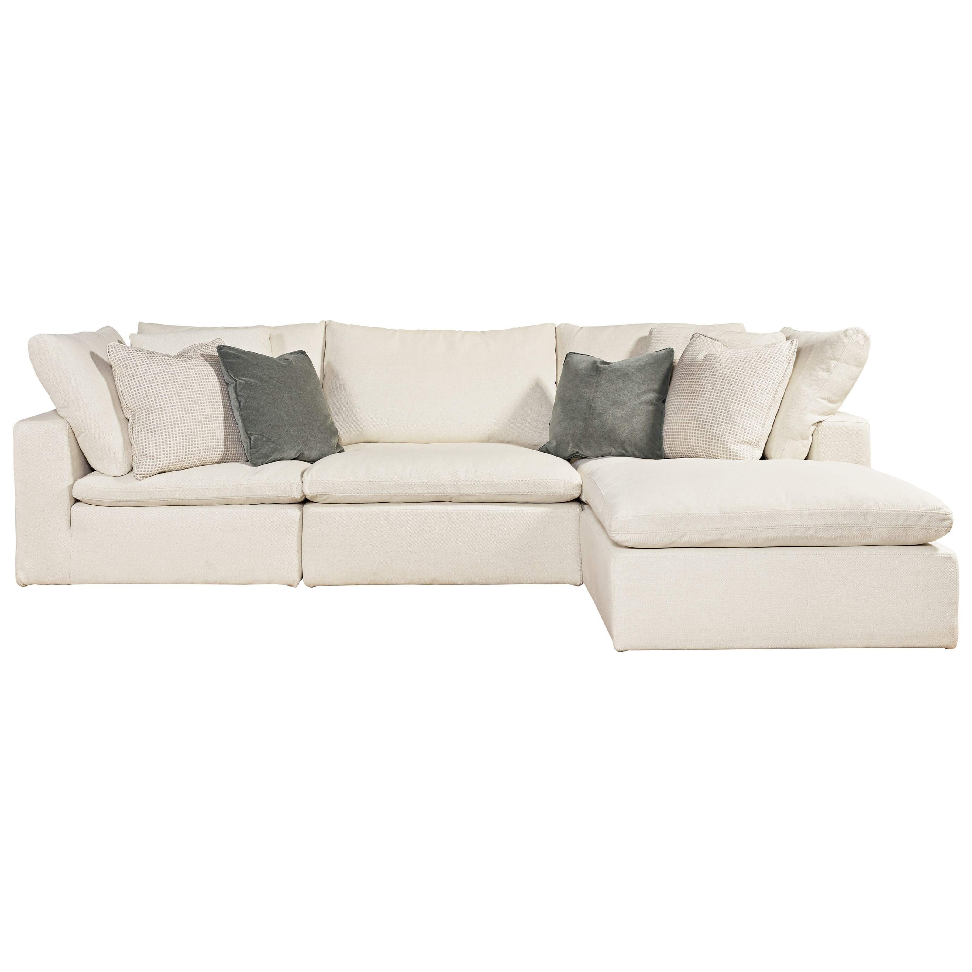 Universal Palmer 4 Piece Sectional - Item Number: 681541-610