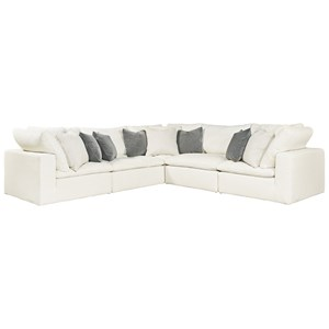 Morris Home Furnishings Palmer 5 Piece Sectional