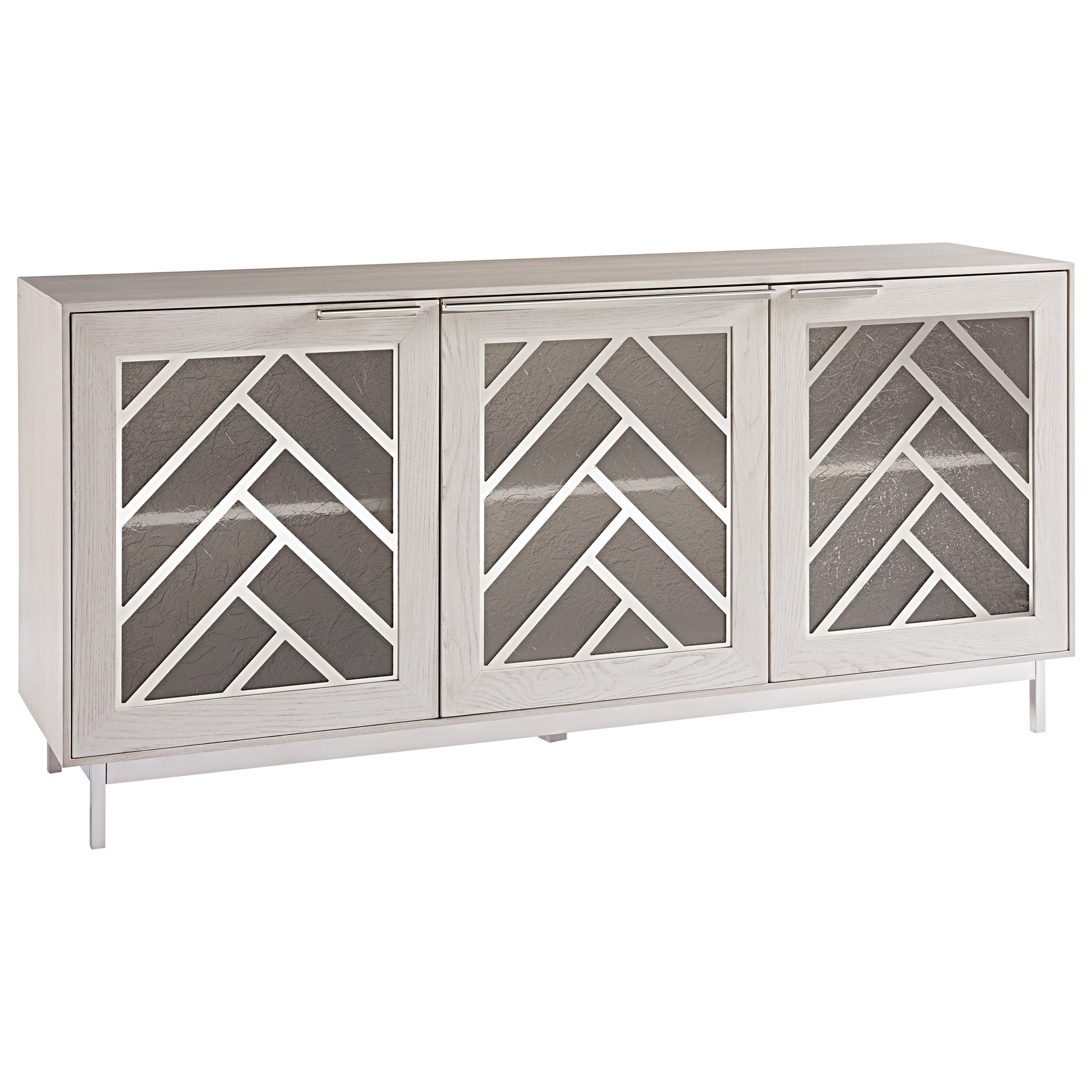 Paradox Media Console by Universal at Stoney Creek Furniture