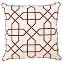 Universal Pillows Berrylicious Trellis Pilllow - Item Number: P20-7003