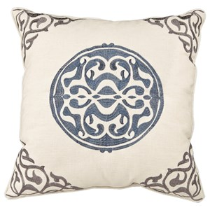 Uniblue Medallion Pillow