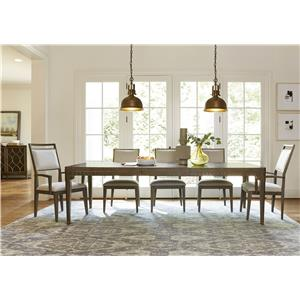 Morris Home Furnishings Platinum Platinum 5-Piece Dining Set