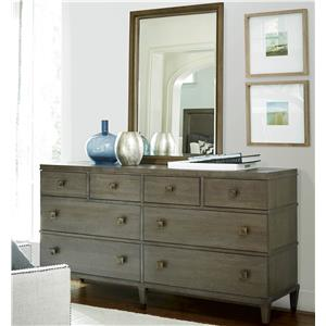 Great Rooms Playlist Dresser and Mirror Set
