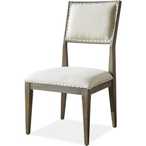 Morris Home Furnishings Platinum Platinum Dining Side Chair